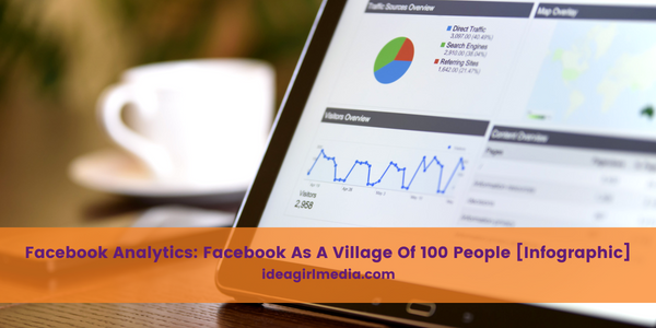 Facebook Analytics: Facebook As A Village Of 100 People [Infographic] revealed at Idea Girl Media