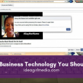 Three Types Of Business Technology You Should Be Using listed at Idea Girl Media