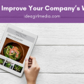 How To Improve Your Company's Website a quick guide at Idea Girl Media